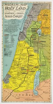 Holy Land Pilgrims Map 2
