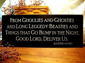 From ghoulies