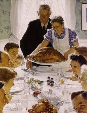 Thanksgiving Normal Rockwell