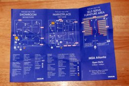 IKEA map